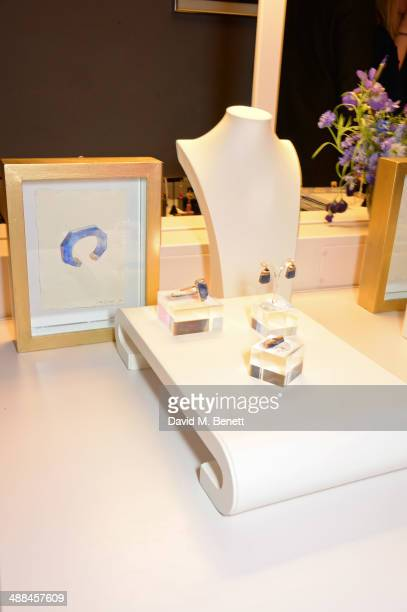 A general view of the atmosphere at the launch of the new 'Jade Jagger' New Bond Street showroom on May 6 2014 in London England