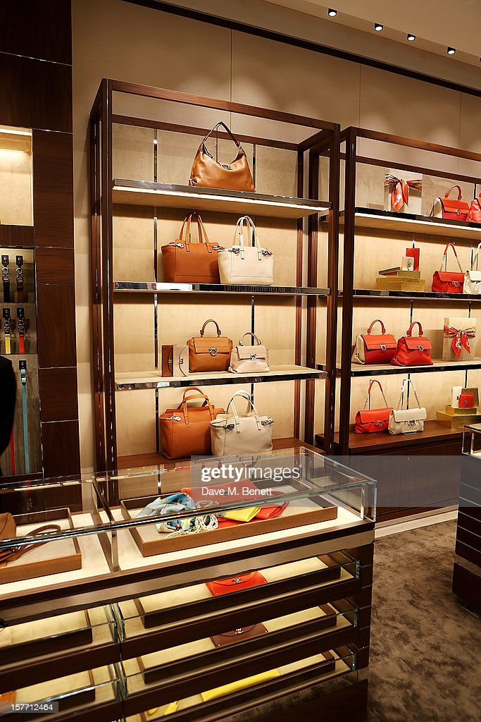 A general view of the atmosphere at the launch of the Salvatore Ferragamo London Flagship Store on Old Bond Street on December 5, 2012 in London, England.