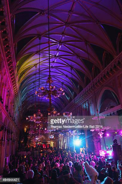 General view of the atmosphere at the Life Ball 2014 After Show Party at City Hall on May 31 2014 in Vienna Austria