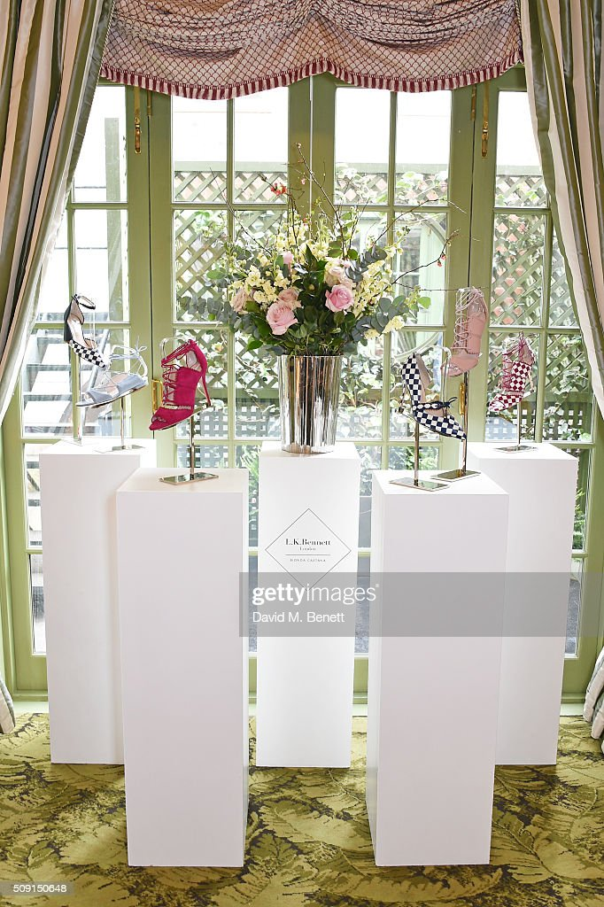A general view of the atmosphere at the L.K.Bennett x Bionda Castana lunch at Mark's Club on February 9, 2016 in London, England.