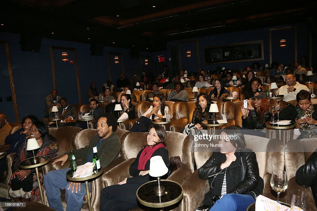 A general view of the atmosphere at the 'LUV' Tastemaker Screening at Soho House on January 8, 2013 in New York City.