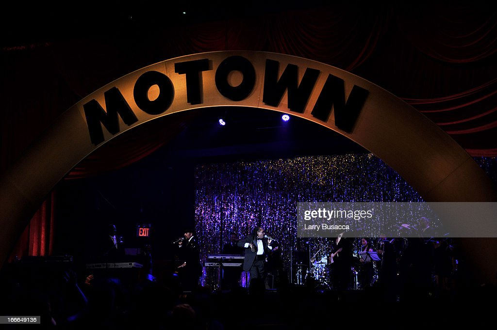 A general view of the atmosphere at the 'Motown The Musical' Opening Night After Party at Roseland Ballroom on April 14 2013 in New York City
