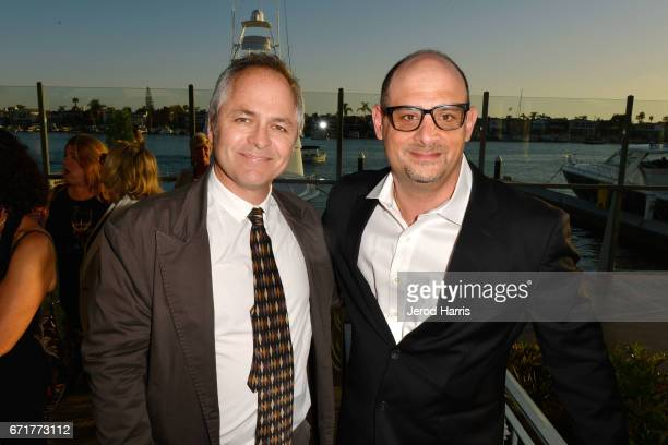 A general view of the atmosphere at the Newport Beach Film Festival Honors at the Balboa Bay Club on April 22 2017 in Newport Beach California