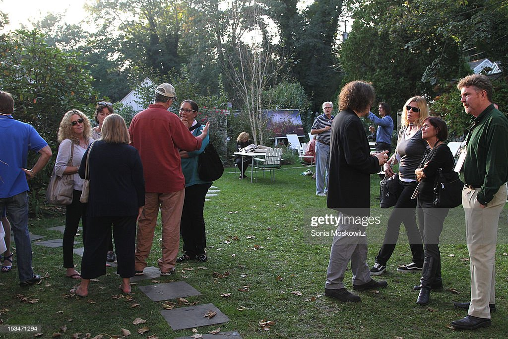 A general view of the atmosphere at the Nobel Laureate Exhibition Reception during the 20th Hamptons International Film Festival at The Maidstone Hotel on October 5, 2012 in East Hampton, New York.