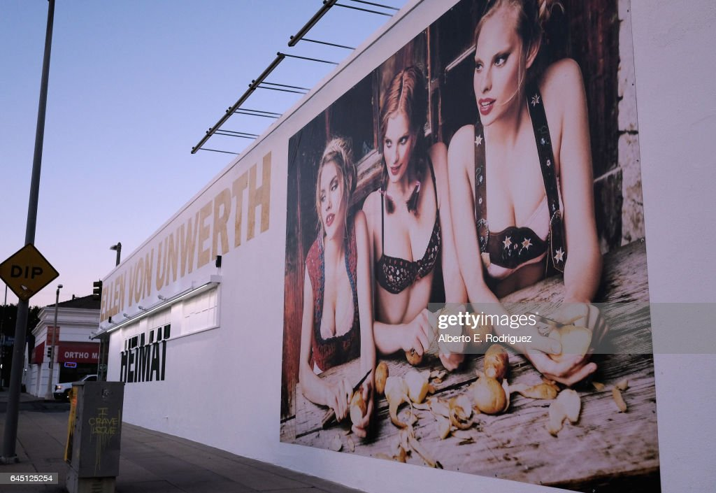 A general view of the atmosphere at the opening night of Ellen Von Unwerth's Photo Exhibit 'Heimat' at TASCHEN Gallery on February 24, 2017 in Los Angeles, California.