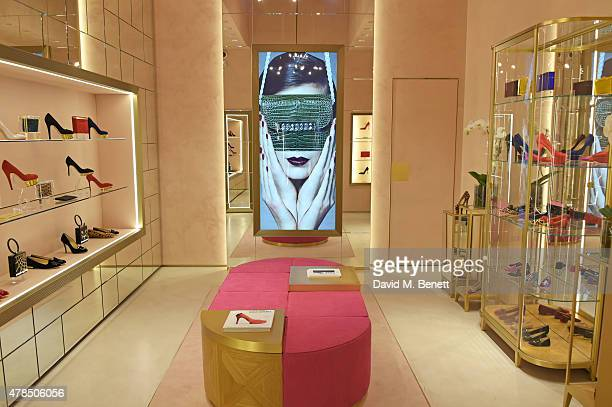 A general view of the atmosphere at the opening of the Charlotte Olympia Brompton Cross store on June 25 2015 in London England