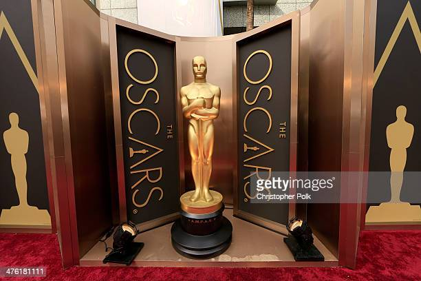 A general view of the atmosphere at the Oscars held at Hollywood Highland Center on March 2 2014 in Hollywood California