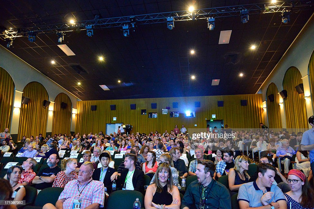A general view of the atmosphere at the Palm Springs ShortFest closing night gala on June 23, 2013 in Palm Springs, California.