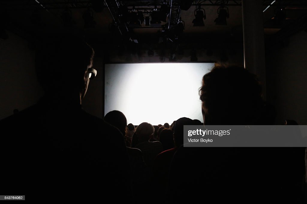 A general view of the atmosphere at the Perret Schaad show during the Mercedes-Benz Fashion Week Berlin Spring/Summer 2017 at Stage at me Collectors Room on June 30, 2016 in Berlin, Germany.