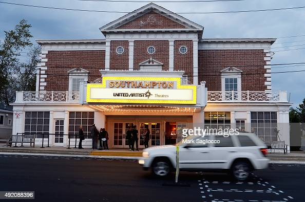 A general view of the atmosphere at the Southampton United Artists on Day 2 of the 23rd Annual Hamptons International Film Festival at Guild Hall on...