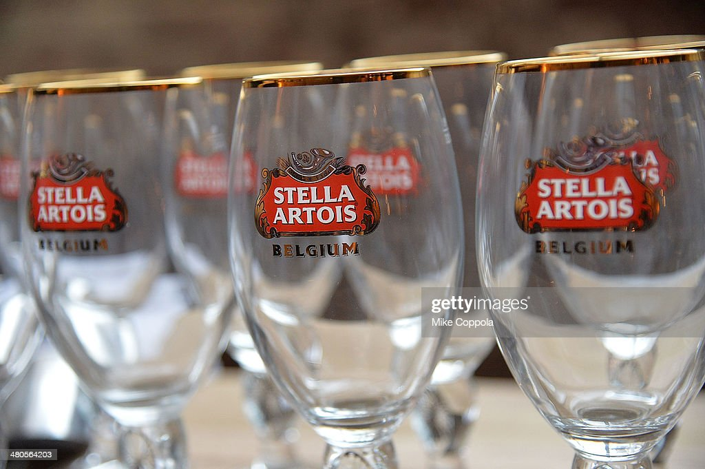 A general view of the atmosphere at the Stella Artois PerfectDraft Home Bar celebration event on March 25, 2014 in New York City.