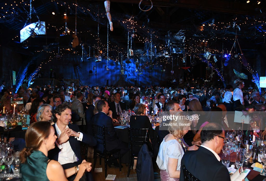 A general view of the atmosphere at the Summer Gala for The Old Vic at The Brewery on June 27, 2016 in London, England.