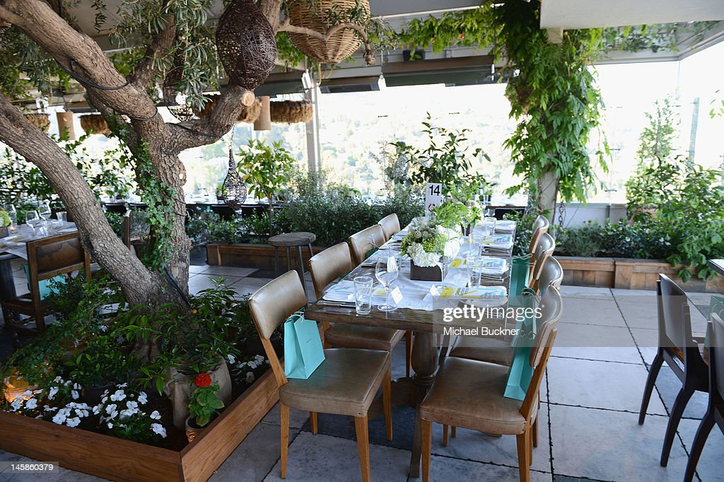General view of the atmosphere at the Sundance Institute Benefit presented by Tiffany Co in Los Angeles held at Soho House on June 6 2012 in West...