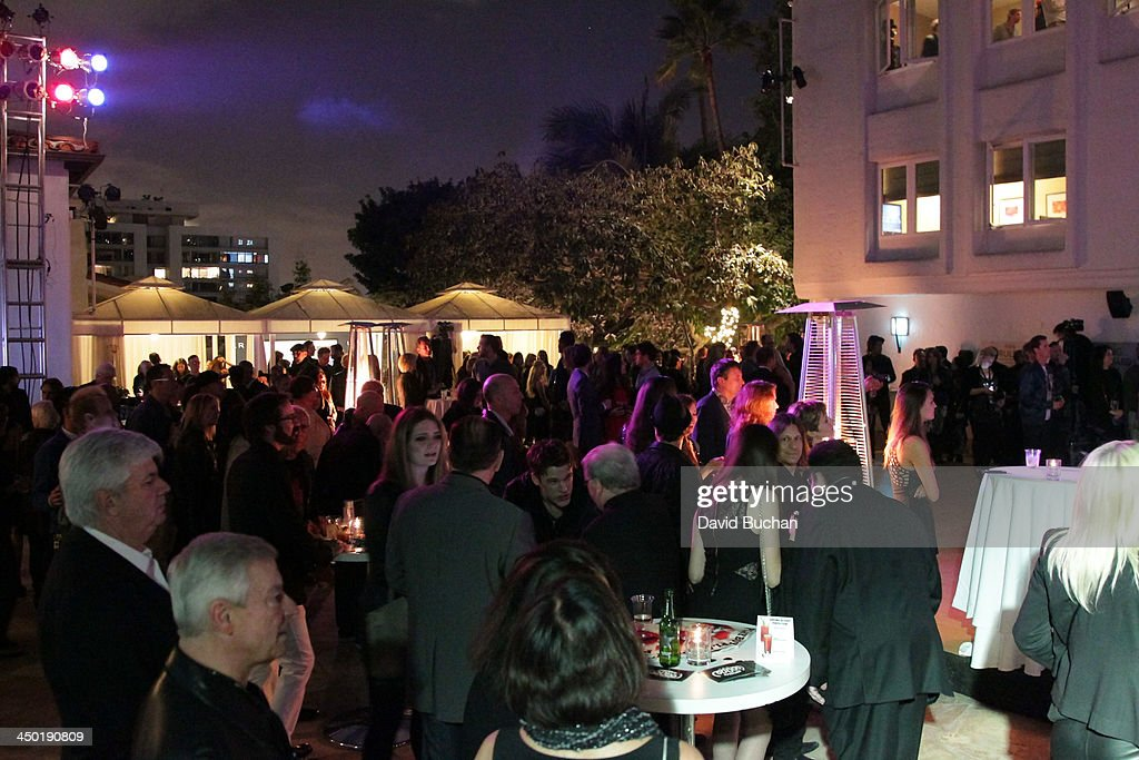 A general view of the atmosphere at the Sunset Marquis Hotel 50th Anniversary Birthday Bash at Sunset Marquis Hotel & Villas on November 16, 2013 in West Hollywood, California.