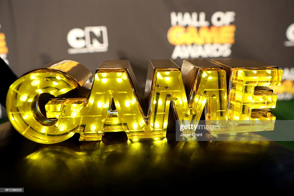 A general view of the atmosphere at the Third Annual Hall of Game Awards hosted by Cartoon Network at Barker Hangar on February 9, 2013 in Santa Monica, California. 23270_004_JG_0120.JPG