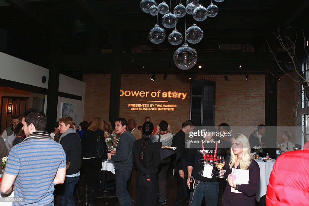 A general view of the atmosphere at the Time Warner Reception at Riverhorse Cafe during the 2013 Sundance Film Festival on January 19, 2013 in Park City, Utah.