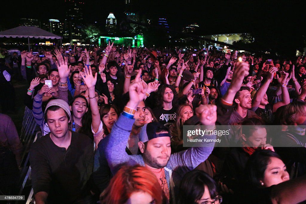 A general view of the atmosphere at the USPS Hendrix Stamp Event + Los Lonely Boys during the 2014 SXSW Music, Film + Interactive at Butler Park on March 13, 2014 in Austin, Texas.