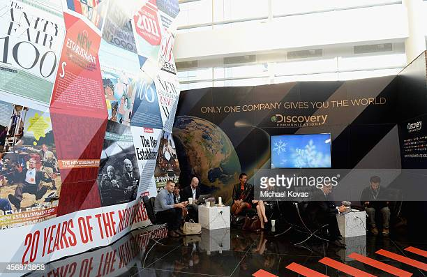 General view of the atmosphere at the Vanity Fair New Establishment Summit at Yerba Buena Center for the Arts on October 8 2014 in San Francisco...