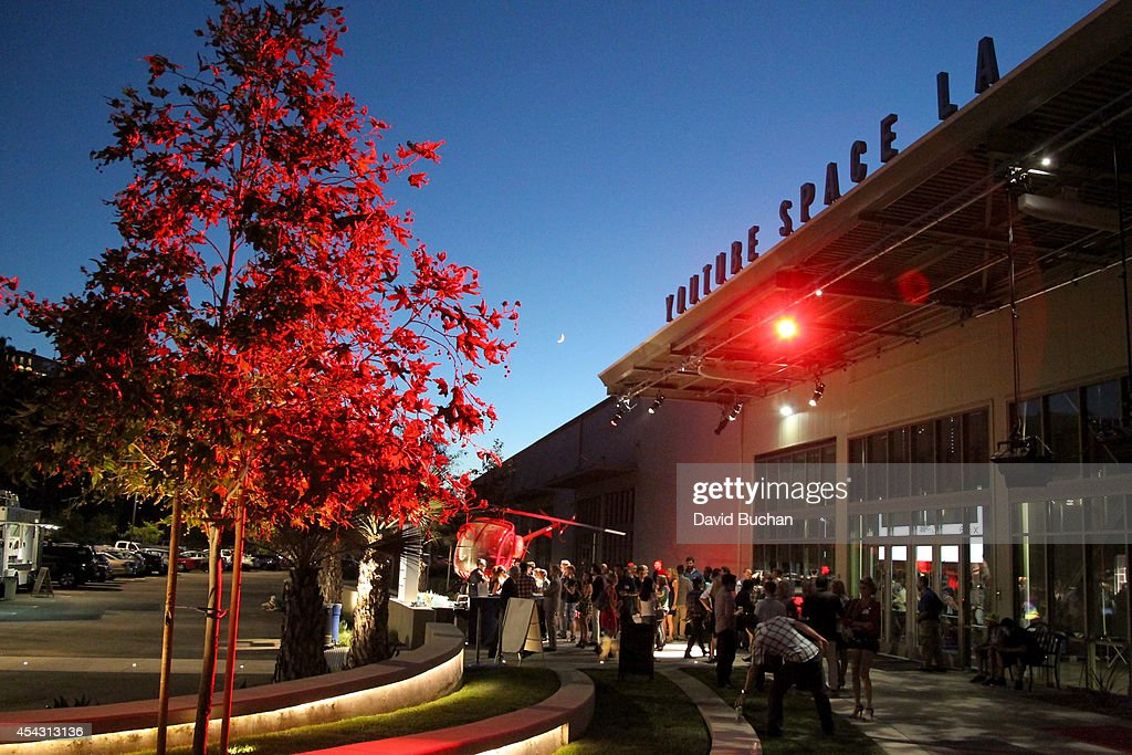 A general view of the atmosphere at TheWrap's ShortList Film Festival at YouTube Space LA on August 28 2014 in Los Angeles California
