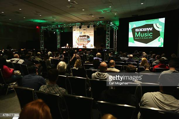 A general view of the atmosphere at 'YouTube New Breeding Ground for Music's Future' during the 2014 SXSW Music Film Interactive at Austin Convention...