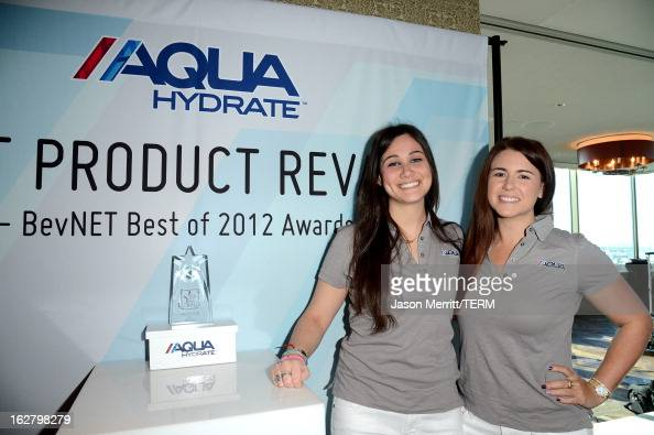 A general view of the atmosphere during a press conference hosted by Sean Combs and Mark Wahlberg to announce their newest venture Water Brand...