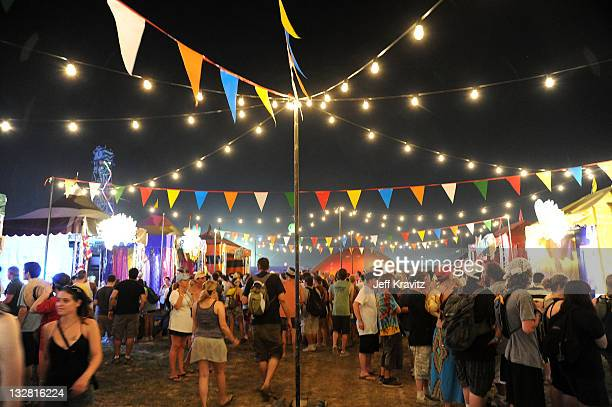 A general view of the atmosphere during Bonnaroo 2011 on June 9 2011 in Manchester Tennessee