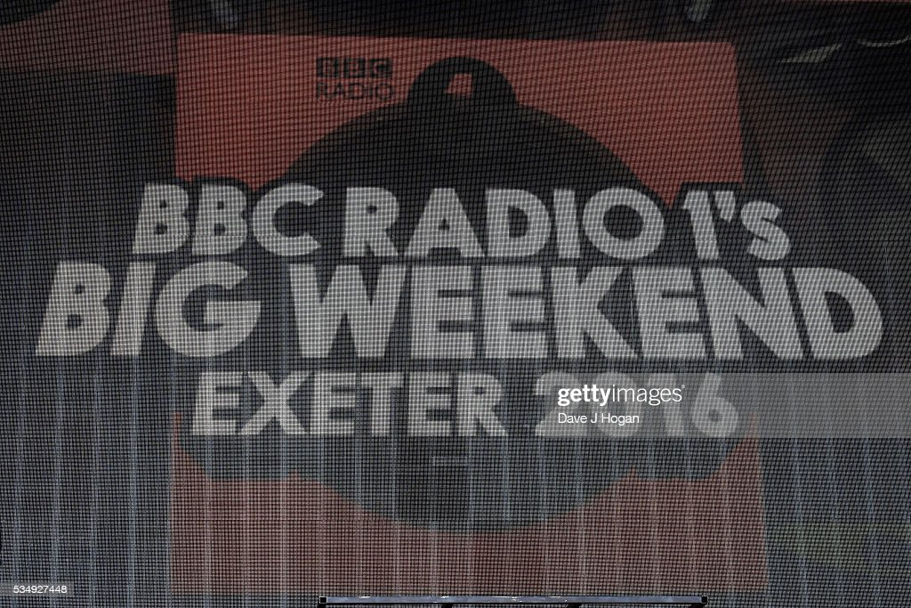 A general view of the atmosphere during day 1 of BBC Radio 1's Big Weekend at Powderham Castle on May 28, 2016 in Exeter, England.