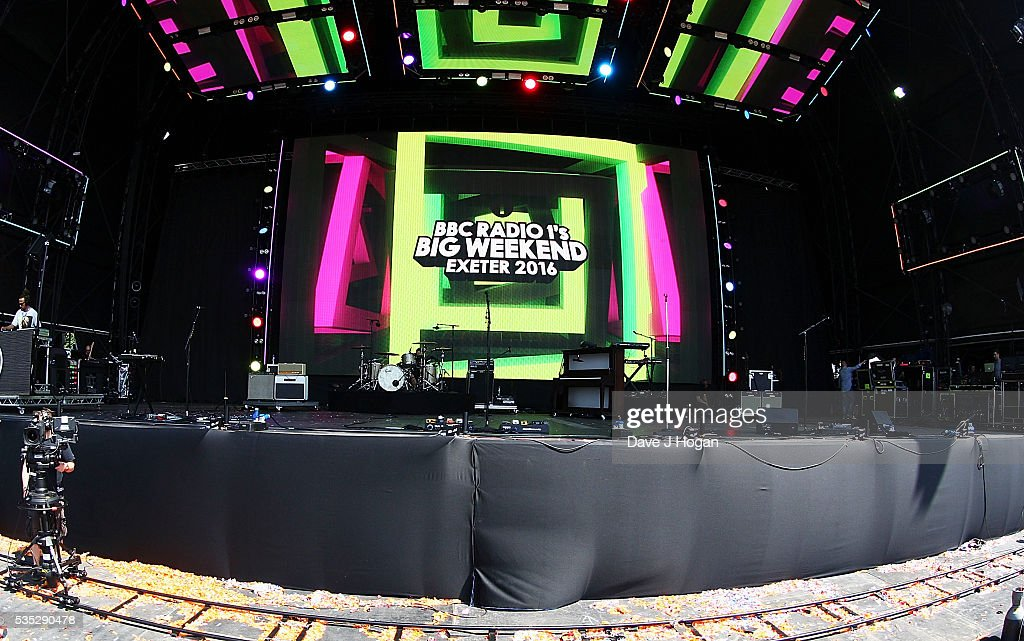 A general view of the atmosphere during day 2 of BBC Radio 1's Big Weekend at Powderham Castle on May 29, 2016 in Exeter, England.