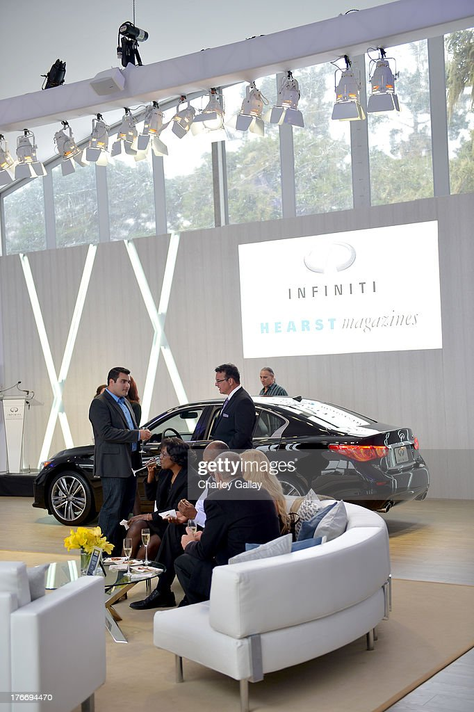 A general view of the atmosphere during day 2 of Moments of Inspiration presented by Infiniti in partnership with Hearst Magazines on August 16, 2013 in Pebble Beach, California.