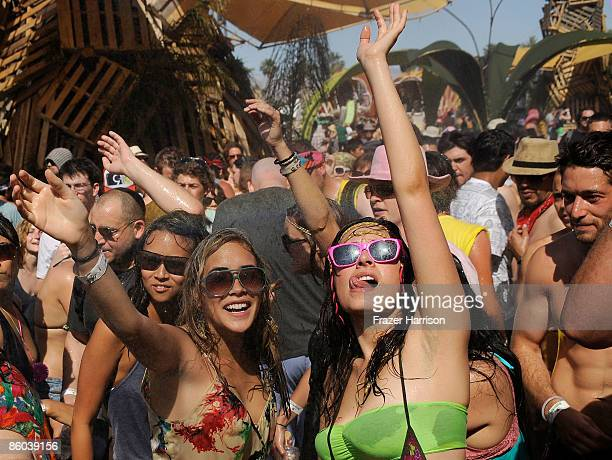 General view of the atmosphere during day three of the Coachella Valley Music Arts Festival 2009 held at the Empire Polo Club on April 19 2009 in...