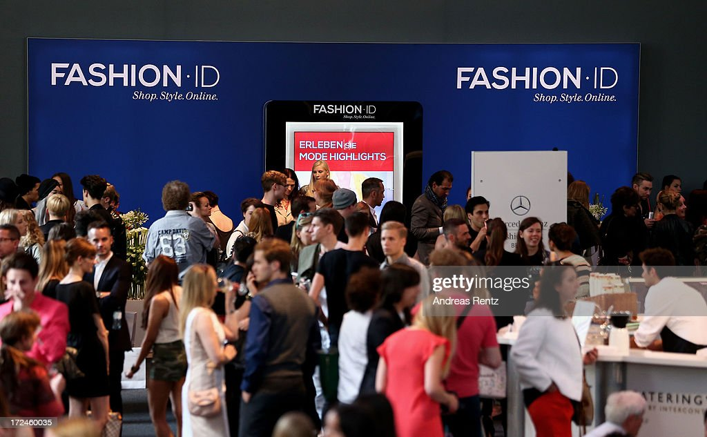 A general view of the atmosphere during Mercedes-Benz Fashion Week on July 2, 2013 in Berlin, Germany.