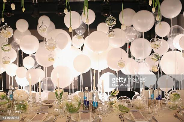 A general view of the atmosphere during smartwater sparkling celebrates Jennifer Aniston and St Jude's Children's Hospital at W Hollywood on February...