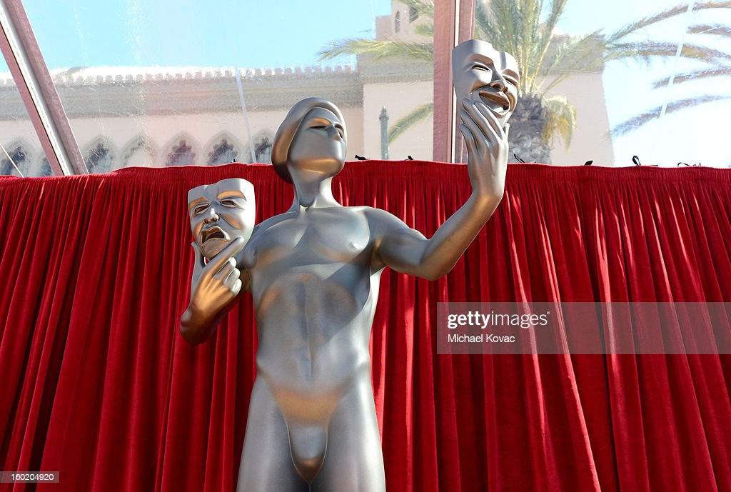 General view of the atmosphere during the 19th Annual Screen Actors Guild Awards at The Shrine Auditorium on January 27, 2013 in Los Angeles, California. (Photo by Michael Kovac/WireImage) 23116_026_0135.JPG