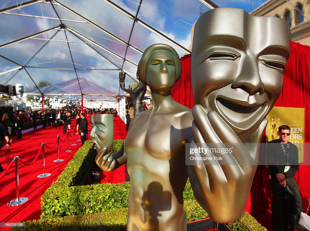 General view of the atmosphere during the 19th Annual Screen Actors Guild Awards at The Shrine Auditorium on January 27, 2013 in Los Angeles, California. (Photo by Christopher Polk/WireImage) 23116_012_0089.jpg