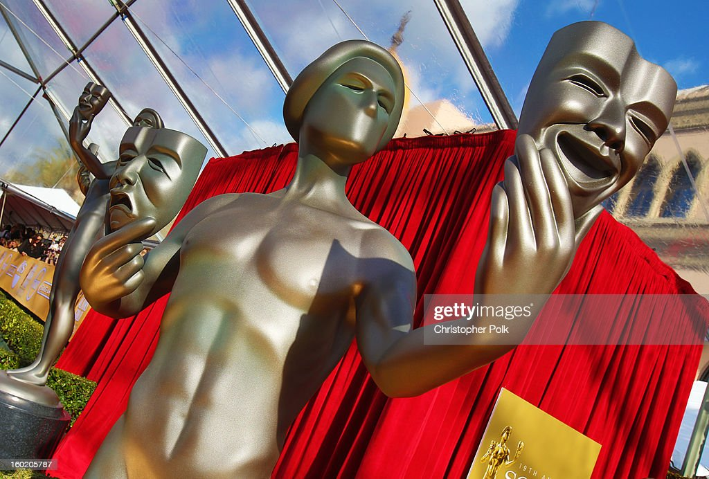 General view of the atmosphere during the 19th Annual Screen Actors Guild Awards at The Shrine Auditorium on January 27, 2013 in Los Angeles, California. (Photo by Christopher Polk/WireImage) 23116_012_0077.jpg