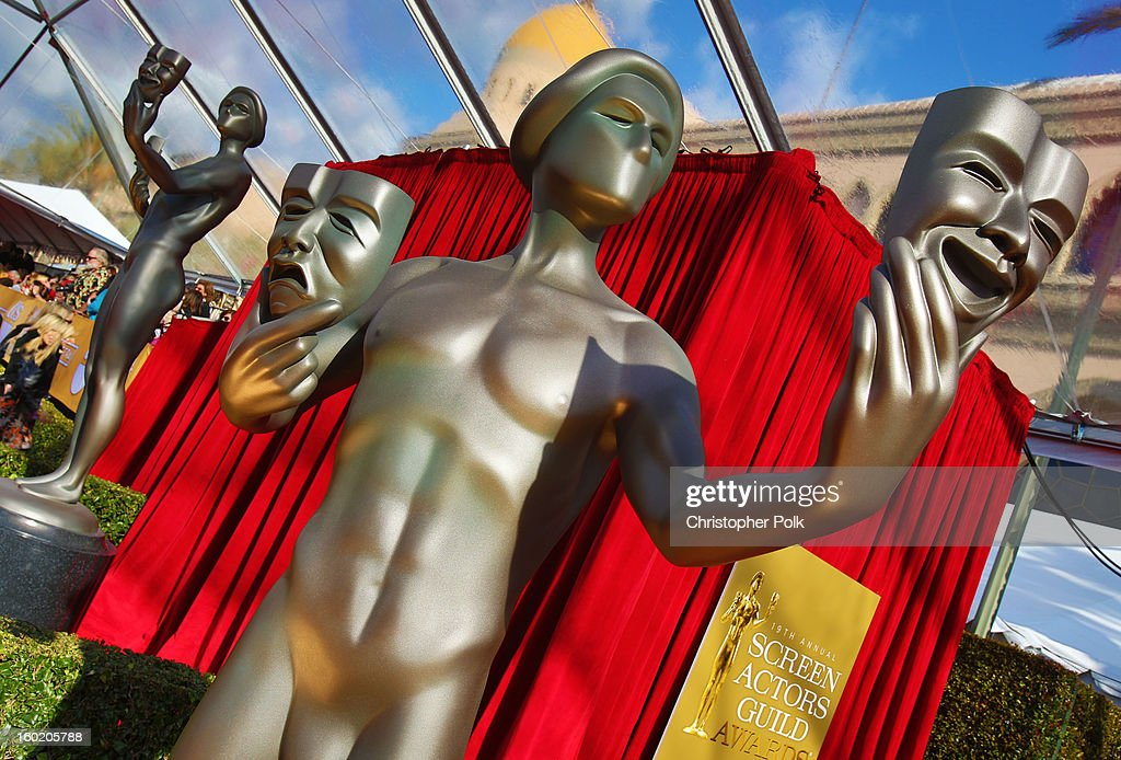 General view of the atmosphere during the 19th Annual Screen Actors Guild Awards at The Shrine Auditorium on January 27, 2013 in Los Angeles, California. (Photo by Christopher Polk/WireImage) 23116_012_0081.jpg