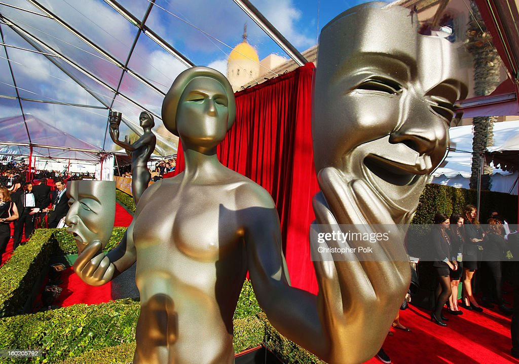 General view of the atmosphere during the 19th Annual Screen Actors Guild Awards at The Shrine Auditorium on January 27, 2013 in Los Angeles, California. (Photo by Christopher Polk/WireImage) 23116_012_0093.jpg
