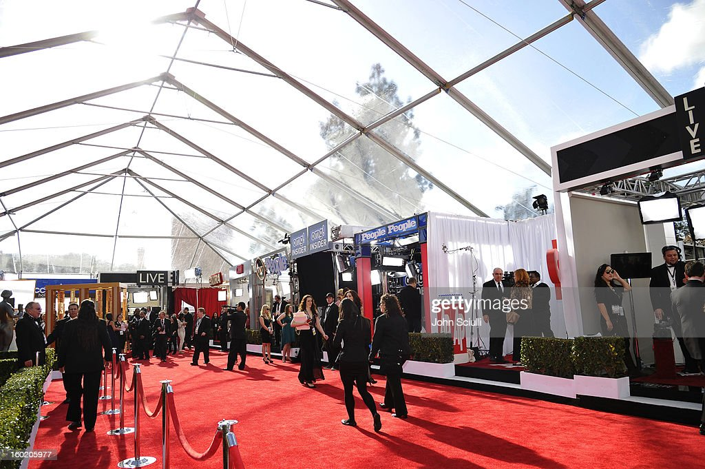 General view of the atmosphere during the 19th Annual Screen Actors Guild Awards at The Shrine Auditorium on January 27, 2013 in Los Angeles, California. (Photo by John Sciulli/WireImage) 23116_015_0084.JPG