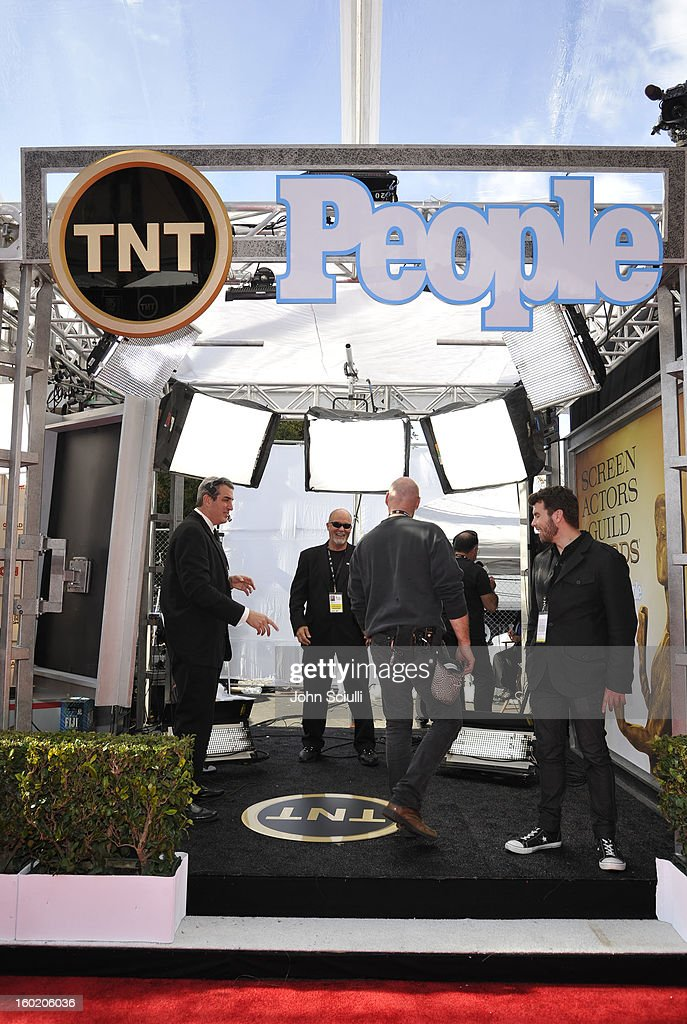General view of the atmosphere during the 19th Annual Screen Actors Guild Awards at The Shrine Auditorium on January 27, 2013 in Los Angeles, California. (Photo by John Sciulli/WireImage) 23116_015_0074.JPG