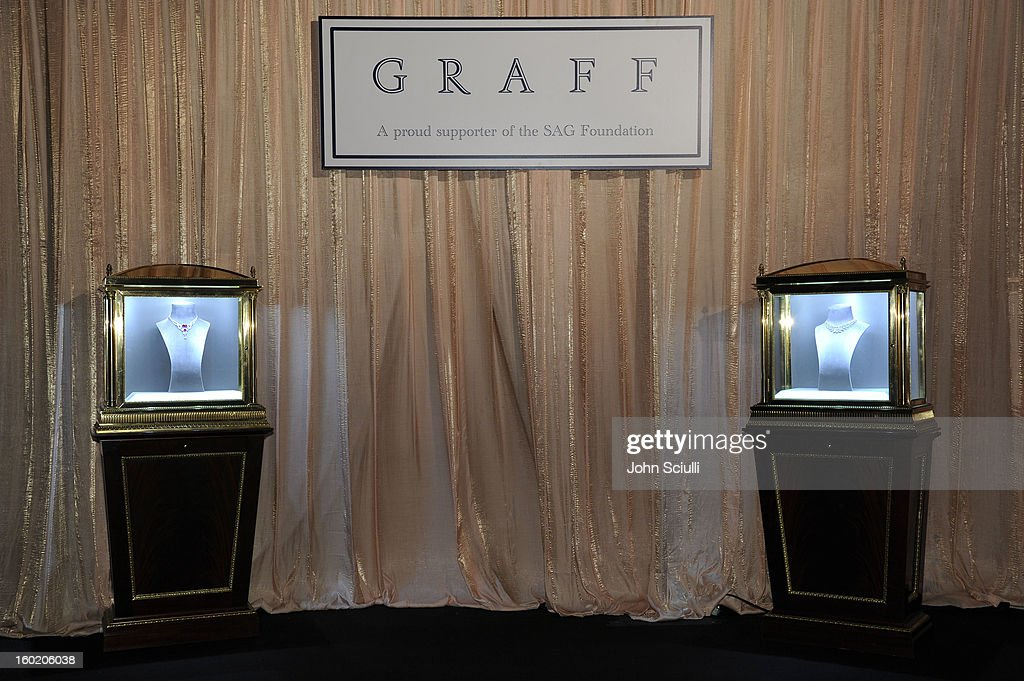 General view of the atmosphere during the 19th Annual Screen Actors Guild Awards at The Shrine Auditorium on January 27, 2013 in Los Angeles, California. (Photo by John Sciulli/WireImage) 23116_015_0088.JPG