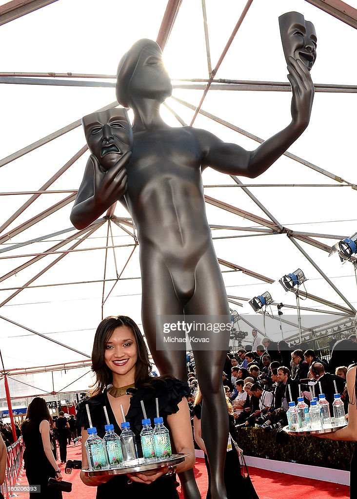 General view of the atmosphere during the 19th Annual Screen Actors Guild Awards at The Shrine Auditorium on January 27, 2013 in Los Angeles, California. (Photo by Michael Kovac/WireImage) 23116_026_0275.JPG
