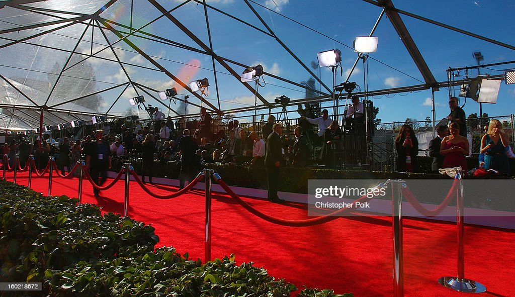 General view of the atmosphere during the 19th Annual Screen Actors Guild Awards at The Shrine Auditorium on January 27, 2013 in Los Angeles, California. (Photo by Christopher Polk/WireImage) 23116_012_0037.JPG