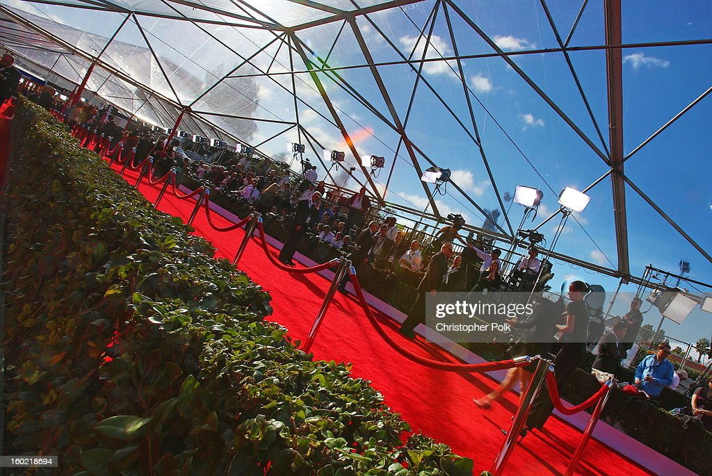 General view of the atmosphere during the 19th Annual Screen Actors Guild Awards at The Shrine Auditorium on January 27, 2013 in Los Angeles, California. (Photo by Christopher Polk/WireImage) 23116_012_0041.JPG