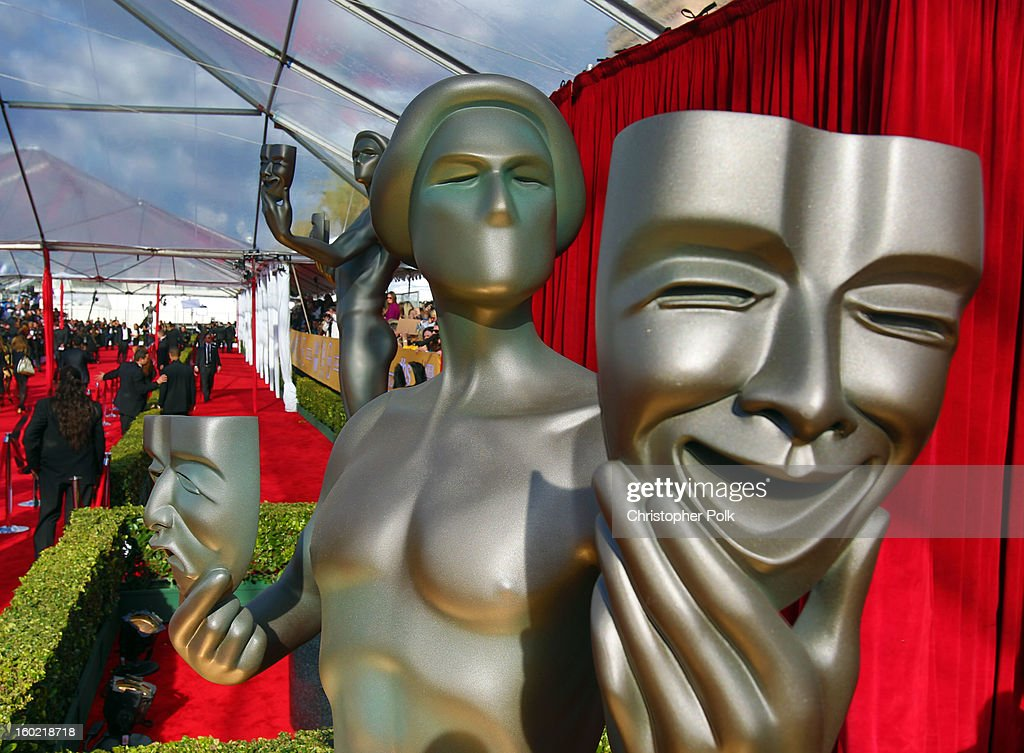 General view of the atmosphere during the 19th Annual Screen Actors Guild Awards at The Shrine Auditorium on January 27, 2013 in Los Angeles, California. (Photo by Christopher Polk/WireImage) 23116_012_0101.JPG