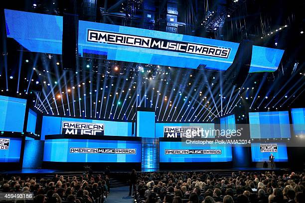 A general view of the atmosphere during the 2014 American Music Awards at Nokia Theatre LA Live on November 23 2014 in Los Angeles California