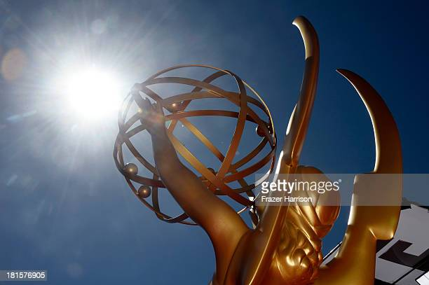 A general view of the atmosphere during the 65th Annual Primetime Emmy Awards held at Nokia Theatre LA Live on September 22 2013 in Los Angeles...