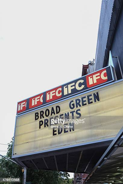 A general view of the atmosphere during the New York Premiere of 'Eden' held at the IFC Center on June 8 2015 in New York City