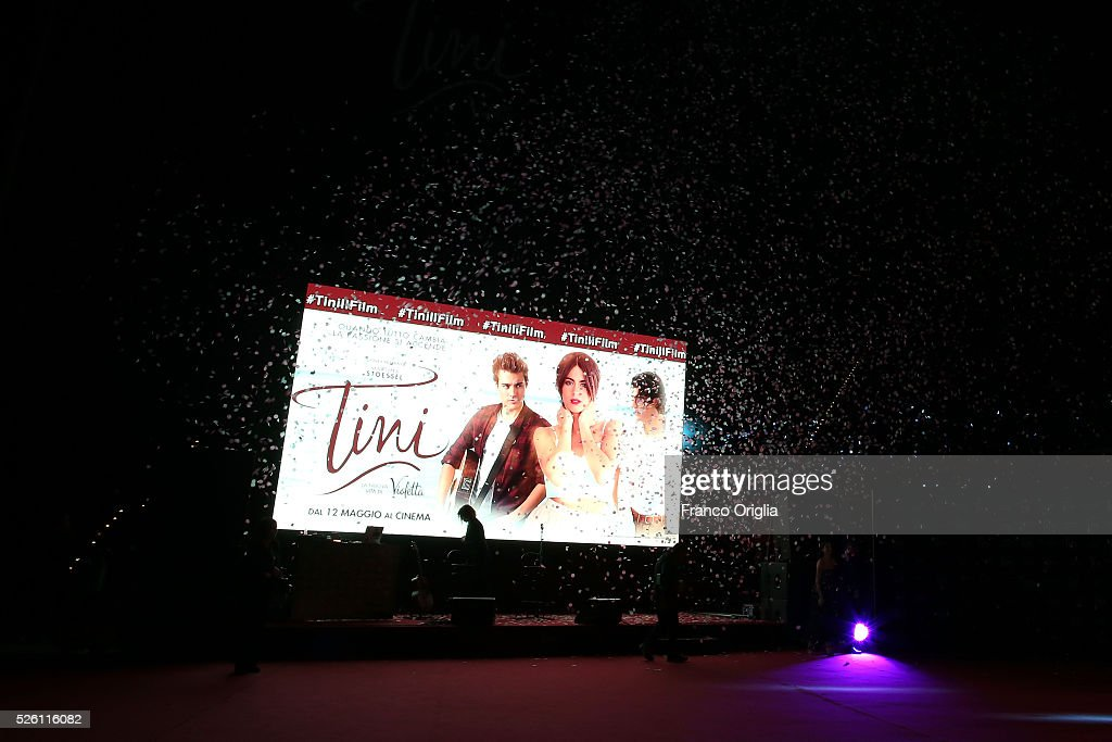 A general view of the atmosphere during the 'Tini - The New Life Of Violetta' Premiere In Rome on April 29, 2016 in Rome, Italy.
