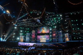 A general view of the atmosphere onstage at the 55th Annual GRAMMY Awards at Staples Center on February 10 2013 in Los Angeles California