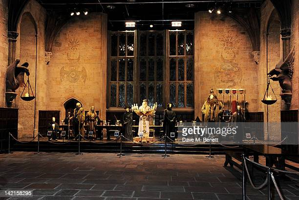 A general view of the atmosphere the Grand Opening of the Warner Bros Studio Tour London The Making of Harry Potter on March 31 2012 in Watford...